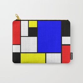 Mondrian Style Carry-All Pouch