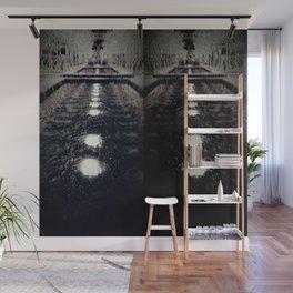 Darker Still - Fountain in Midnight and Black Wall Mural