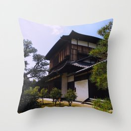 Nijo Castle Throw Pillow
