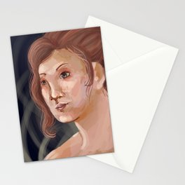 each heart cultivates its own song Stationery Cards