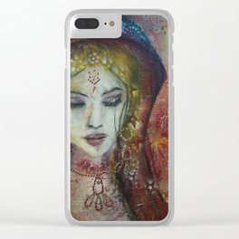 Woman of the Universe Clear iPhone Case