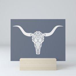 Longhorn (Tide) Mini Art Print