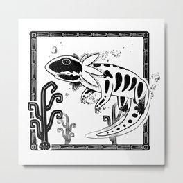 Axolotl Metal Print