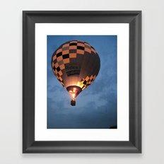 Night Time Flight Framed Art Print