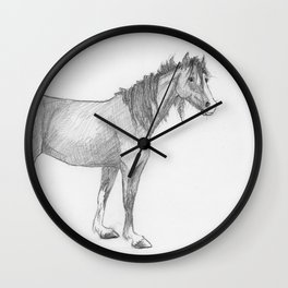 The Old Lady Wall Clock