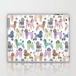Poodles by Veronique de Jong Laptop & iPad Skin