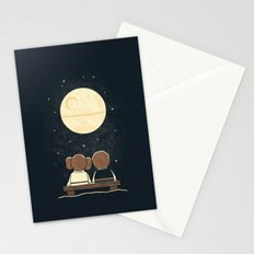 Moon Gazing Stationery Cards