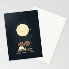 Moon Gazing Stationery Cards