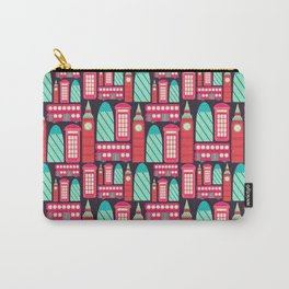 London Pattern Carry-All Pouch