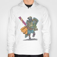 dungeons and dragons Hoodies featuring Dungeons & Dragons & DOOM by Floating Disc