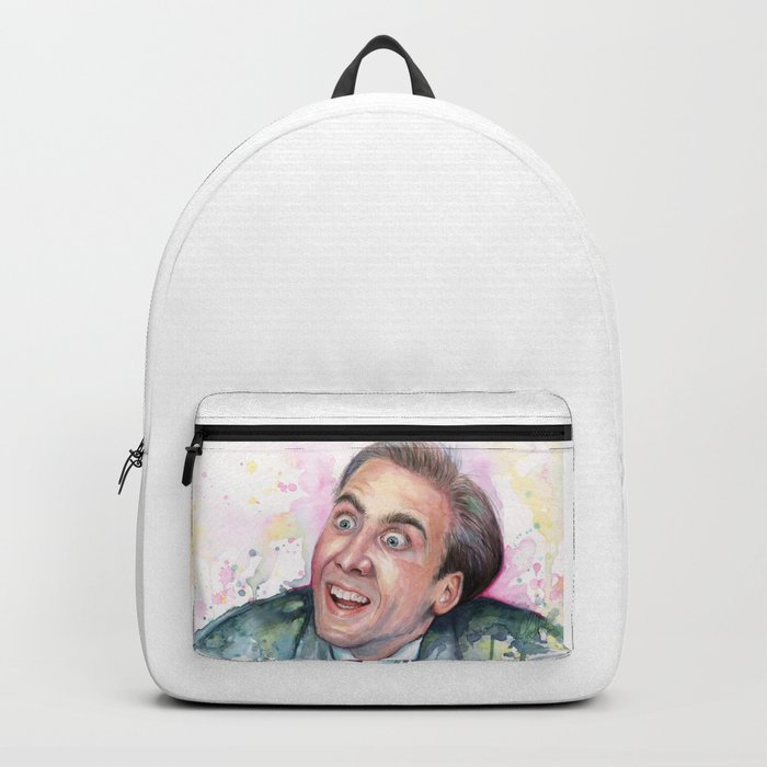 Nicolas Cage You Don't Say Geek Meme Nic Cage Backpack