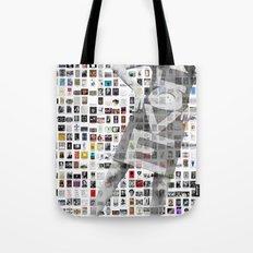 LOVE Mosaic Tote Bag