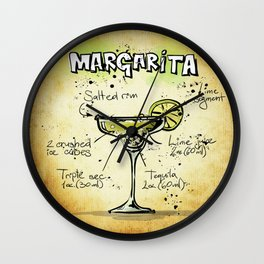 Margarita Wall Clock