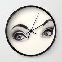 tiffany Wall Clocks featuring Tiffany by Samantha Petrin