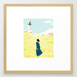 A Moment of Silence Framed Art Print