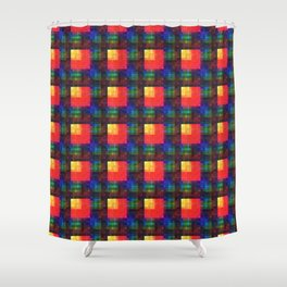 Dyenamic Shower Curtain