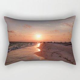Siesta Key Sunset Rectangular Pillow