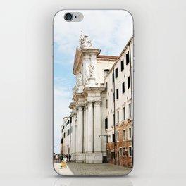 Venice buildings iPhone Skin