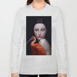 Miss Orange Stork Long Sleeve T-shirt