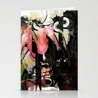 frank Stationery Cards featuring Frank by Alvaro Tapia Hidalgo