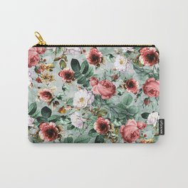 Rpe Seamless Floral Pattern I Carry-All Pouch