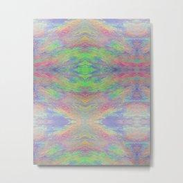 Psychadelic Oil Spill Pattern Metal Print