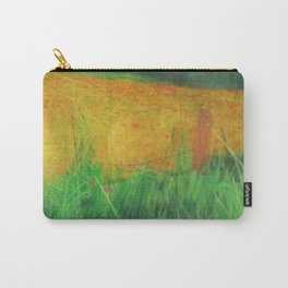 Barbed Wire Poppies Carry-All Pouch