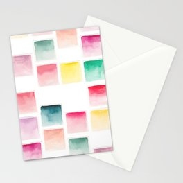Summer Paint Chips Flat Lay Photograph Stationery Cards