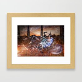 Hells Angel Framed Art Print