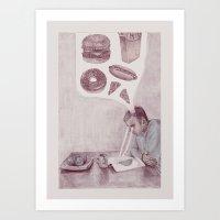 health Art Prints featuring Health by Joshua Goymer