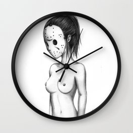 Miss Jason Wall Clock