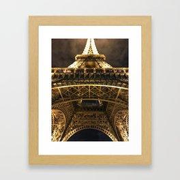 la tour magnifique Framed Art Print