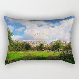 Garden of Tuileries Rectangular Pillow