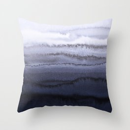 WITHIN THE TIDES BLUE Throw Pillow