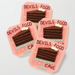 Devil's Food Cake An All American Classic Dessert Coaster