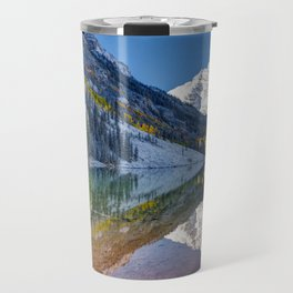 Maroon Bells Colorado Travel Mug