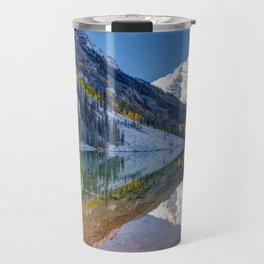 Maroon Bells Colorado Travel Mug