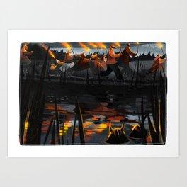 Midsummer VII Art Print
