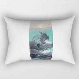 Surfboard Rectangular Pillow