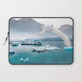 Polar Bear Iceberg Laptop Sleeve