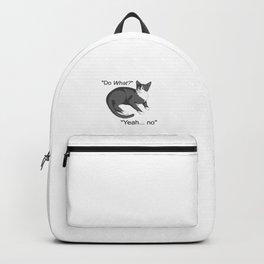 Stubborn Cat Backpack
