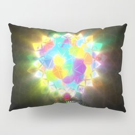 ELECTRIC STAINED GLASS Pillow Sham