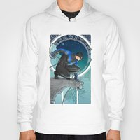 nightwing Hoodies featuring Nightwing Nouveau by stoopz