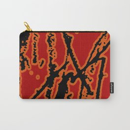 Vivid Abstract Grunge Texture Carry-All Pouch