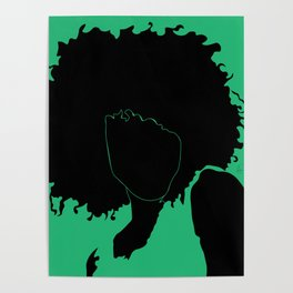 lime green Poster