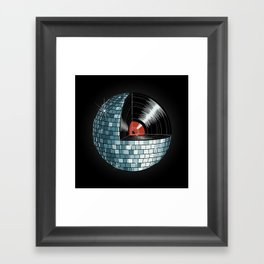 Discography Framed Art Print