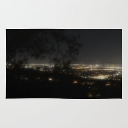 While Los Angeles Sleeps Rug