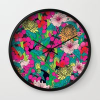 fruit Wall Clocks featuring FRUIT by KIMENTE
