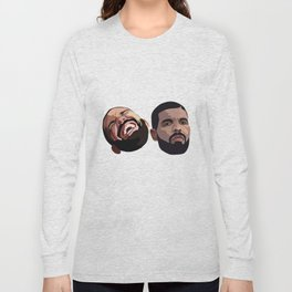 COMEDY & TRAGEDY Long Sleeve T-shirt