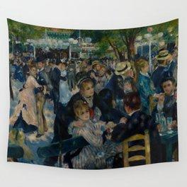 Auguste Renoir - Dance at Le Moulin de la Galette Wall Tapestry